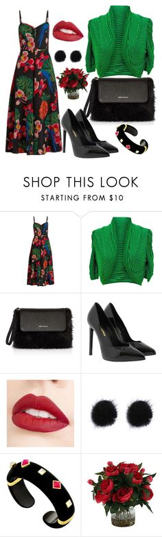 """""""Untitled #660"""" by domla ❤ liked on Polyvore featuring Valentino, jon & anna, Karen Millen, Yves Saint Laurent and Jouer"""