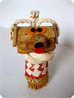 JAPANESE VINTAGE HandCrafted Dog Figurine by TokyoVintage26, $12.50
