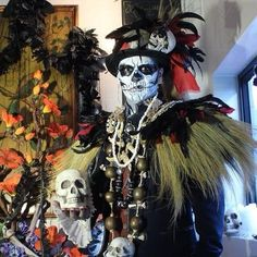 Voodoo priest costume: