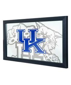 This Kentucky Wildcats Fade Framed Wall Mirror is perfect! #zulilyfinds