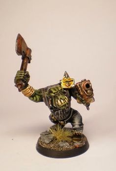 Tale of Painters: Tutorials: How to paint Orks