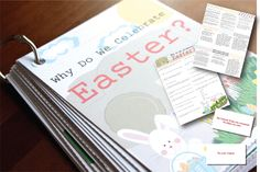 """For a better description of this product, please seeTHIS ARTICLE.  This product goes with the Flip Book: """"Why Do We Celebrate Easter?""""  You will need to purchase the Flip Book separately.  See below for more information."""
