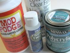 How to protect your paper beads. A comparison test of 5 different sealants.
