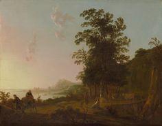 Albert Cuyp - Landschap met de vlucht naar Egypte