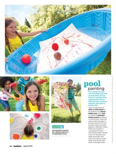 Pool painting - fun