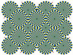 どうしてもダマされる、錯視画像10選  http://www.huffingtonpost.jp/2013/08/21/10_optical_illusions_that_will_blow_your_mind_n_3766354.html