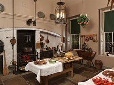 19th Century kitchen at Christmas