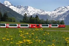 Swiss Trains are clean and almost always on time. Scenic trains make traveling in Switzerland an unforgettable experience