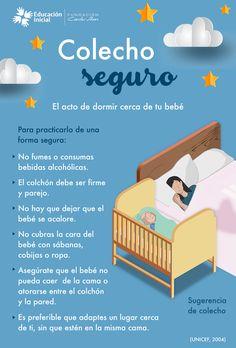 Dormir con tu bebé tiene varias ventajas, sigue estás recomendaciones para hacerlo de la forma más segura. #Bebés #Sueño #Dormir #Colecho #cuidados #tips