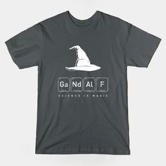 T-shirt Tuesday! Get elemental with this #Gandalf tee by @sebisghosts from @TeePublic https://www.teepublic.com/show/10747-gandalfs-magical-science… #LOTR