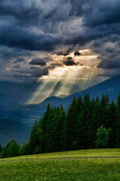 Mountain Storm, The Alps,Austria