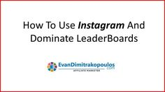 Instagram has been lately the Social Media platform which has the most signifigant growth.