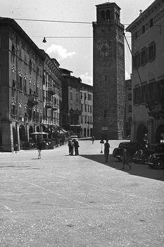 Town Centre - Riva (Italy), 1938   #TuscanyAgriturismoGiratola