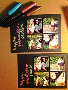 Cute magnets of my sister + her BFF on cardstock for her graduation gift :) College Graduation, Graduation Gifts, Friend Senior Pictures, Pretty Cool, Bff, Card Stock, Magnets, Best Friends, Gift Ideas