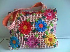 Bolsas com Crochet