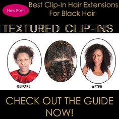 #ONYCHair Clip-Ins are great to achieve a quick volume and length fix.  Check out the recent blog in our #HairCareGuide for a list of the best Clip-In #hair extensions for Black Hair.  Shop Now>>> ONYCHair.com Shop Now>>> ONYCHair.uk Shop Now>>> ONYCHair.ng