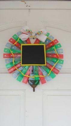 Ruler Wreath Teacher wreath school wreath teacher by ADCMDesign