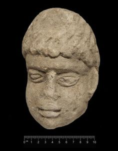 An 1800-year-old stone carving of the head of what probably is a Roman God was found during an archaeological dig at Binchester, Roman Fort. The head resembles Antenociticus, a Celtic deity associated with military prayers in the region. The head was found in the equivalent of an ancient garbage dump, not far from a shrine.