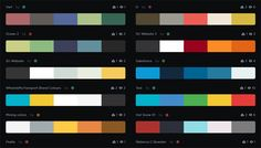 Coolors - Generate color schemes just by tapping the Spacebar and then tweak individual colors via their HSB, RGB and