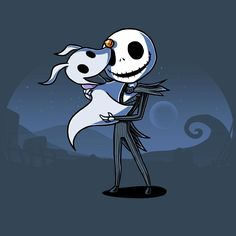 Friendship Never Dies T-Shirt The Nightmare Before Christmas TeeTurtle
