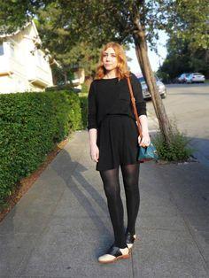 Saddle Shoes Street Style - on Fashion & Fringe