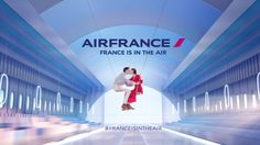 Just had a look at the stunning videos from the new Air France advertising film campaign that includes a safety demonstration video and the France is in the Air film making off. And it's delightfu...