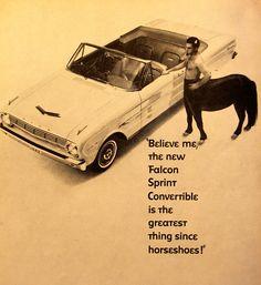 Ford Falcon Convertible Ad 1963