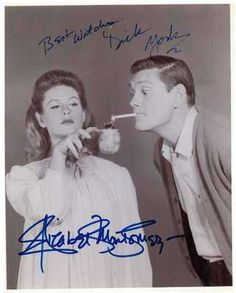 Autographed Photo of Elizabeth Montgomery & Dick York