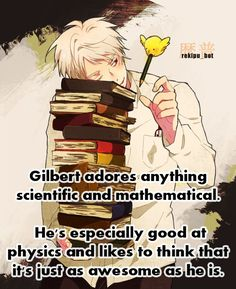 Mein Gott. I hate physics. But i love Prussia. What's wrong with me?