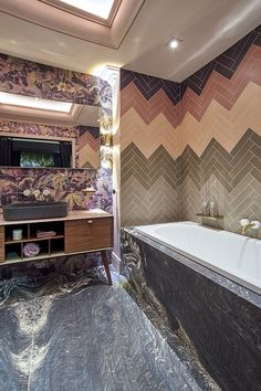 C.P. Hart and House of Hackney pink quartz glam bathroom
