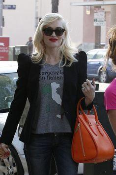 Gwen Stefani wearing Sofee.