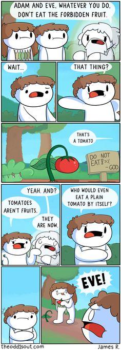 The Forbidden Fruit #Lol @oxmariieee
