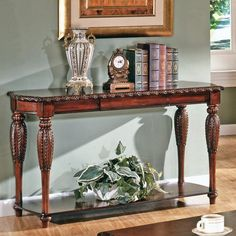 Steve Silver Antoinette Console Table $479.98  Dimensions: 55W x 20D x 30H inches