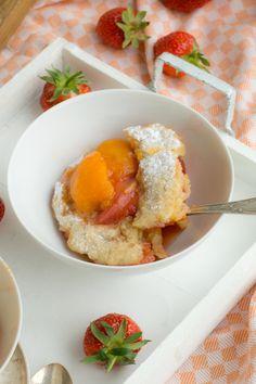 Easy peasy Erdbeer-Aprikosen-Cobbler - es muss nicht immer Crumble sein! - Zimtkeks und Apfeltarte
