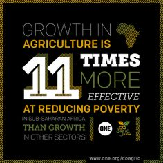 Did You Know? If African governments invested more in agriculture, they could…