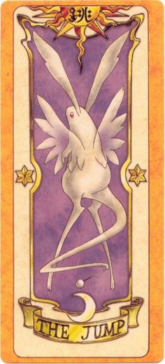 This is The Jump Clow Card from the Card Captor Sakura anime and manga series by CLAMP