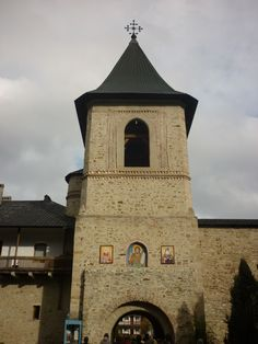Turnul de intrare de la Manastirea Secu - Neamt - Romania