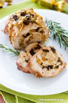 Lomo relleno de frutas secas. Receta de Navidad | Cocina Muy Fácil | http://cocinamuyfacil.com