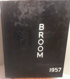The Broom:  1957 Delta State University College Yearbook Cleveland Mississippi