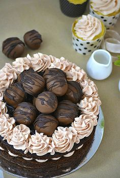 chococlate truffle cake 2b by ever expanding kitchen, via Flickr