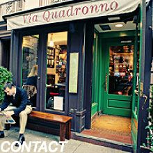 Tonight's dinner with Dawn will be at... Via Quadronno in NYC | Known for our Unforgettable Cappucinos and Paninis