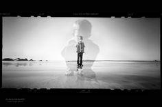 #Pinhole #portrait by Chris Keeney. Great double exposure! #Obscura
