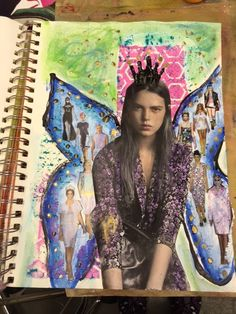 Carmen B. Norris: Art Challenge- 15 Days of 15 minute Mixed Media-12...
