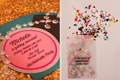 """""""She who leaves a trail of glitter is never forgotten…"""" Bachelorette Party, Glitter, Bold Colors, Cocktails, Food, Sparkle, Unconventional Bachelorette Party"""
