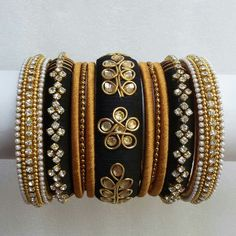 To order, pls what's app on 9704084116 Silk Thread Jhumkas, Silk Thread Bangles Design, Silk Thread Necklace, Silk Bangles, Thread Jewellery, Fabric Jewelry, Fashion Jewellery, Bangle Set, Jewelry Patterns
