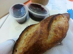 a gauntlet to German bread