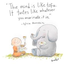 Buddha Doodle: Tastes like Tofu