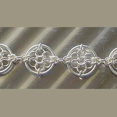 Chain Maille Patterns | Dreamcatcher Chain Maille Bracelet | JewelryLessons.com