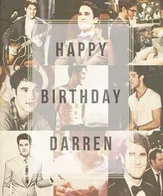 #HappyBirthdayDarrenCriss #ThankYouDarrenForLovelyBlaine <3