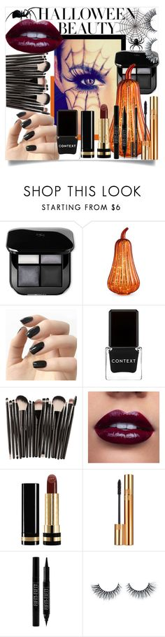 """""""Waking the Spiders (Halloween Make Up Contest)"""" by lenlen-28-xoxo ❤ liked on Polyvore featuring beauty, Improvements, Incoco, Context, Gucci, Yves Saint Laurent, Forever 21 and Bobbi Brown Cosmetics"""
